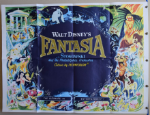 Fantasia Walt Disney- UK Quad